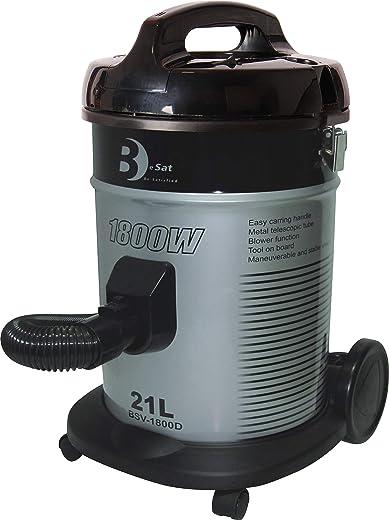 مكنسة كهربائية اسطوانية من بيسات - 21 لتر - 1800 واط