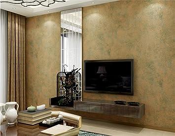 ZWZT Tapete Vlies Normallack Modern Einfach Nachahmung Diatom Schlamm  Dekoration Schlafzimmer TV Wand Wohnzimmer Tapete