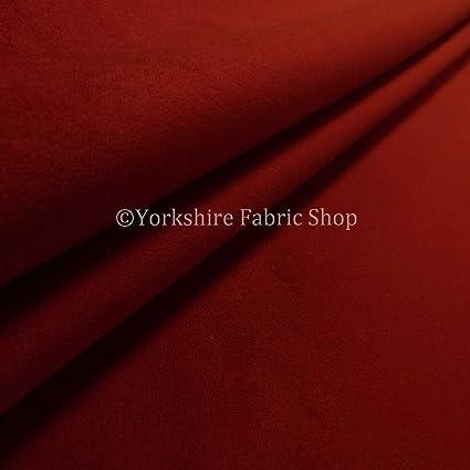 Funda para sofá o cama burdeos rojo oscuro terciopelo de ...