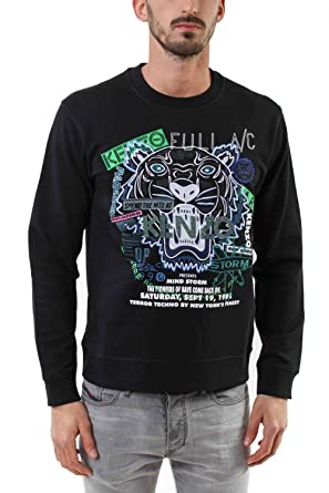 aa9d0804 Kenzo Men's Sweatshirt - Black - XS: Amazon.co.uk: Clothing