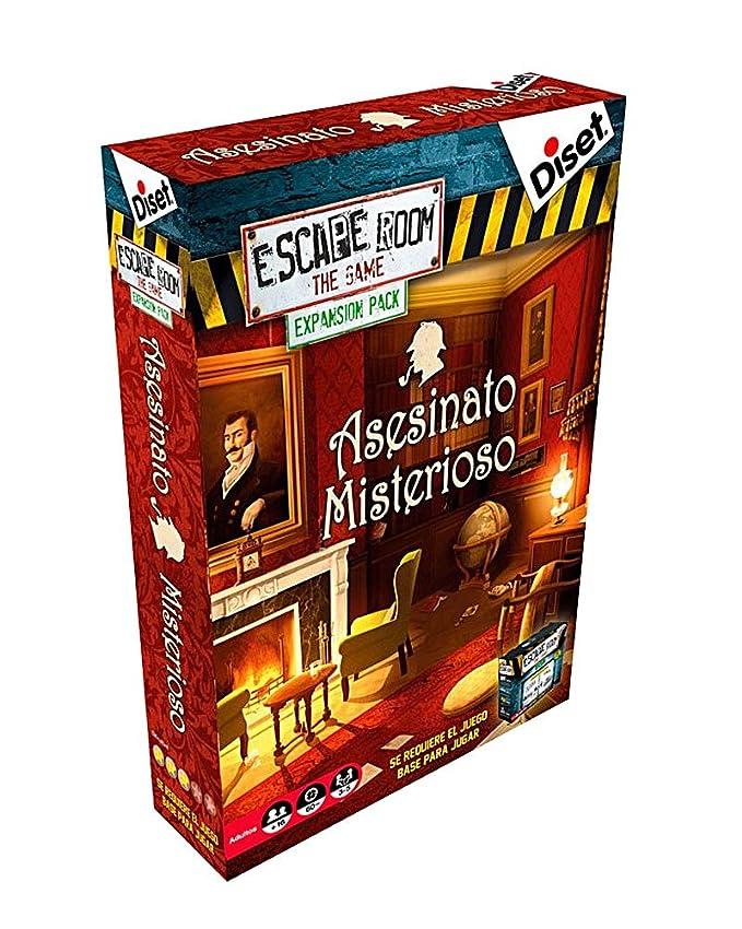 Outletdelocio. Juego Escape Room Diset 62304 + 2 Expansiones ...