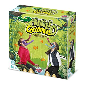 Noris 606011756 Kroko Dinner und Geschicklichkeitsspiel Party