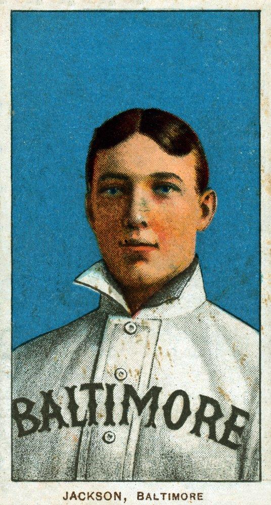 Baltimore Eastern League – ジミージャクソン – 野球カード 36 x 54 Giclee Print LANT-23317-36x54 B01MG357N2  36 x 54 Giclee Print