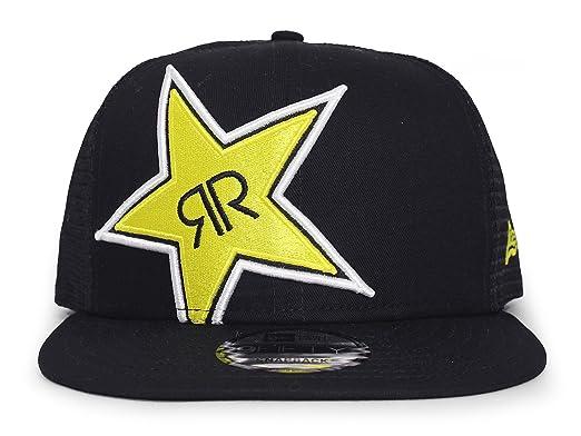 ... snapback hats 45new era snap backcreate 5f661 denmark new era rockstar  energy drink the bizz mesh cap blk 68802 30480 ... cd6e2b966b80