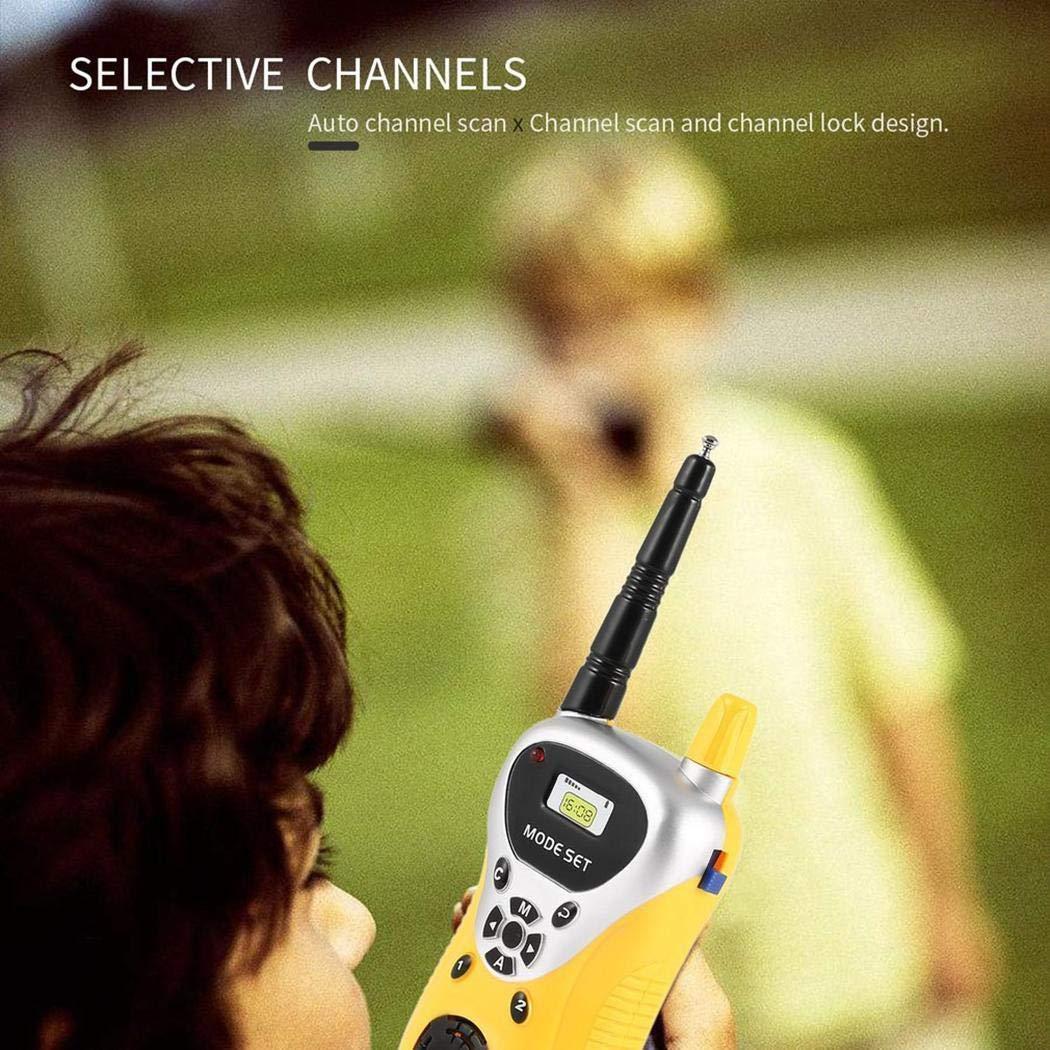 hiriyt Kids Mini Electronic Portable Handheld Two-Ways Radio Walkie Talkie Toy Walkie Talkies by hiriyt (Image #3)