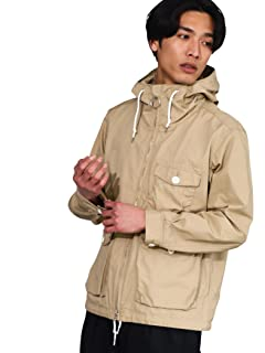 Cotton Weather Cloth Deck Parka 3225-149-2307: Beige