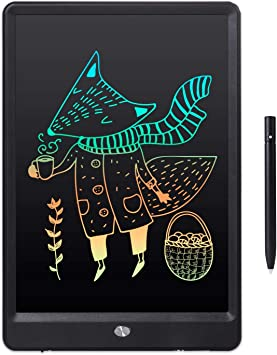 Oureong LCD Writing Tablet 3 Pcs 8.5 Inch Childrens LCD Drawing Board Light Energy Electronic Blackboard Household Color Graffiti Board for Kids Home School Office