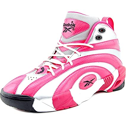 cadcfdffa8d465 Buy Reebok Shaqnosis OG Round Toe Synthetic Basketball Shoe Online at Low  Prices in India - Amazon.in