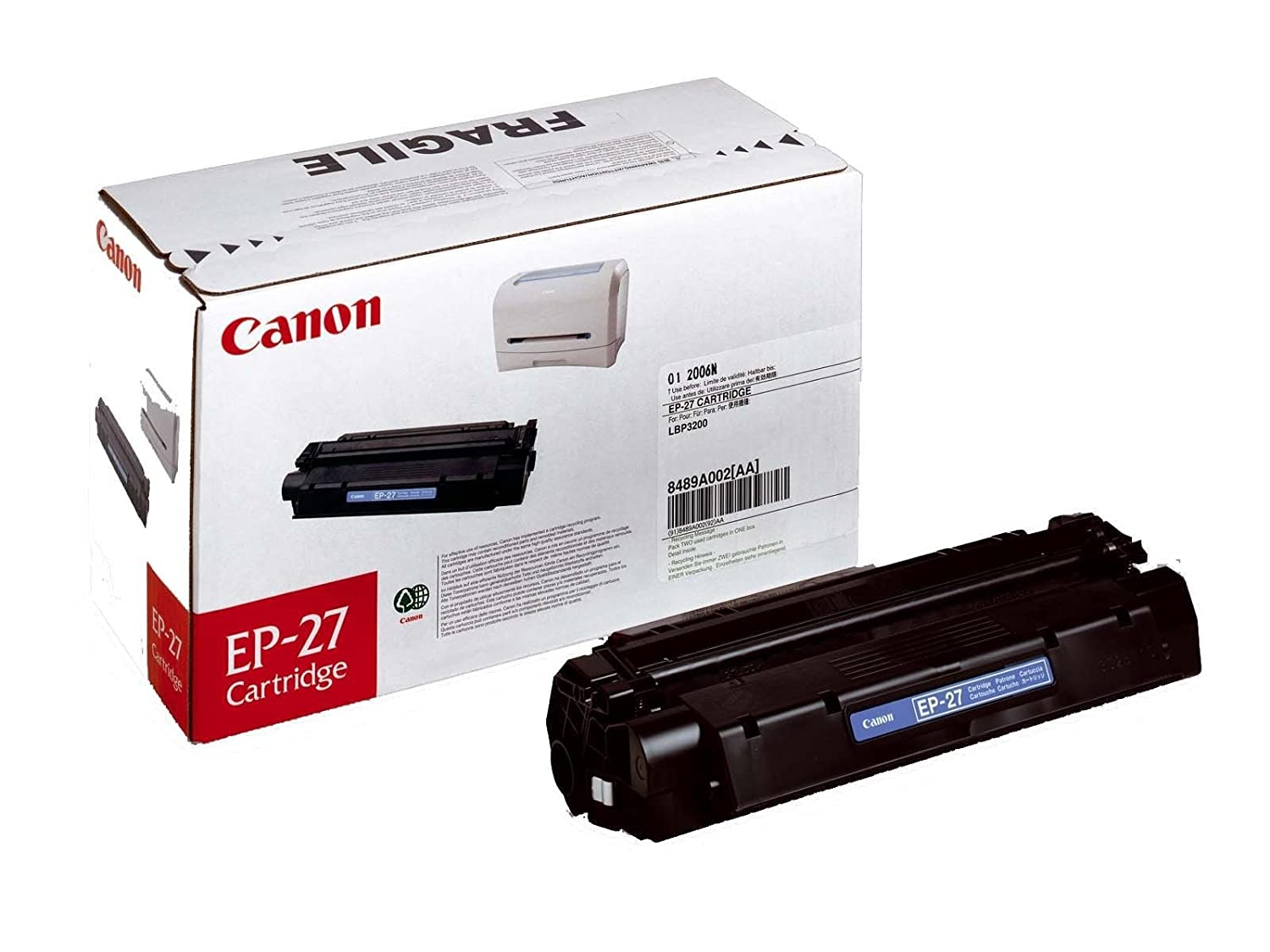 TONER CANON LBP-3200 MF3110/56 30/5730/5750/5770 EP-27: Amazon.es ...