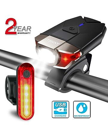 VeloChampion s//n DEL Mountain Vélo Lumières Rechargeable USB Avant Arrière