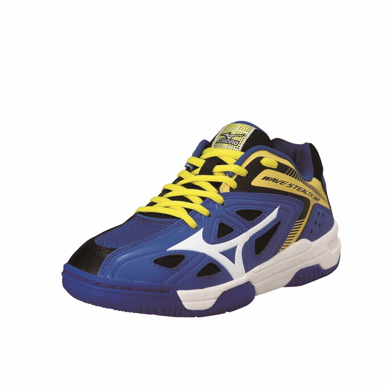 Zapatillas de Balonmano de Material sint/ético ni/ños Mizuno Jr Wave Stealth 3