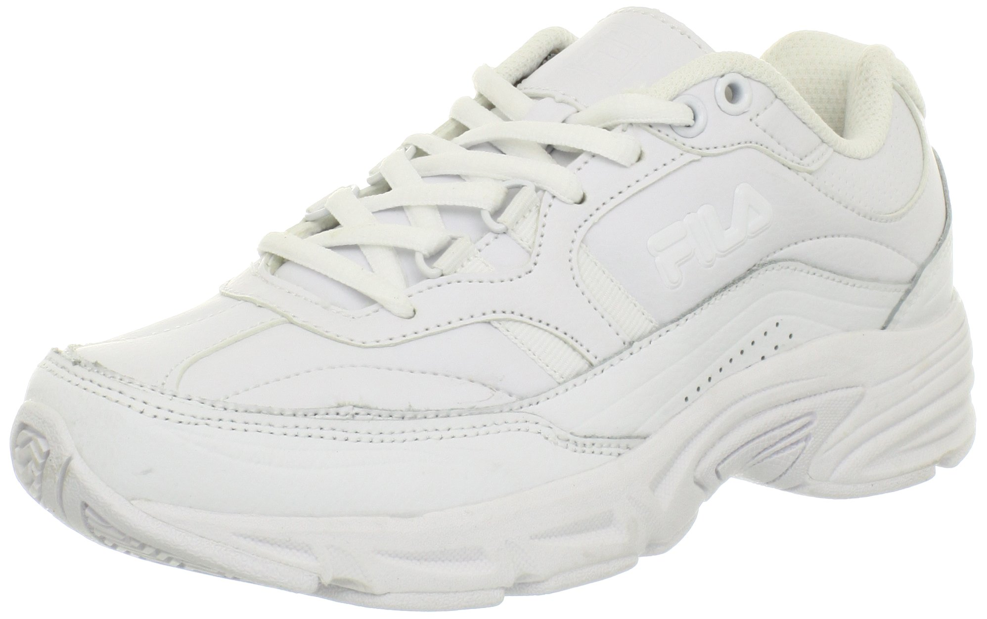 Fila Women's Memory Workshift Cross-Training Shoe,White/White/White,7.5 M US by Fila