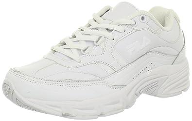1153761ef20c Fila Memory Workshift Femmes US 8 Blanc Chaussure de Marche  Amazon ...