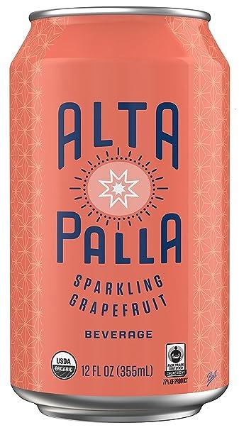 Amazon.com : Alta Palla Grapefruit Certified Organic Sparkling Juice ...