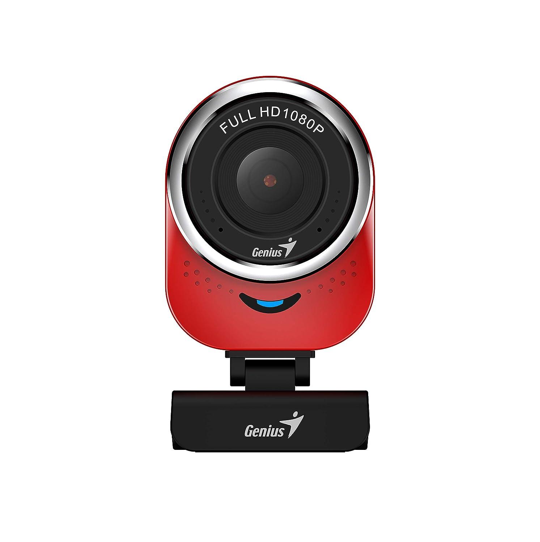 GENIUS QCAM6000 1080PフルHD Webカメラ(マイクロUSBレッド付き) B07NSM7RYG