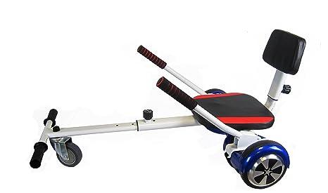 Sumun Sbksfm Asiento Kart Hoverboard, Blanco/Rojo, 6.5