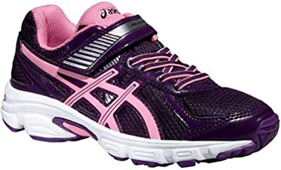 Hermano Abuelo Farmacología  ASICS Junior Gel-IKAIA 5 GS Velcro Running Shoes - Purple/Pink/White UK 2:  Amazon.es: Zapatos y complementos