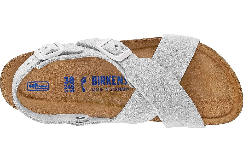 1d0422cdd99090 BIRKENSTOCK Tulum SFB SL W Sandalen White  Amazon.de  Schuhe   Handtaschen