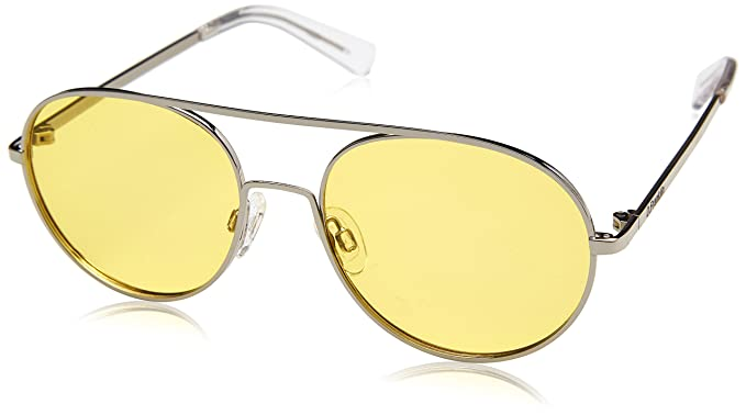 78ddf27ee8 D. Franklin Eagle, Gafas de Sol Unisex adulto, Amarillo, 52: Amazon ...