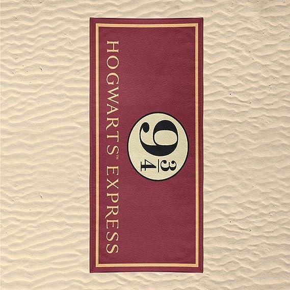 Cerdá 2200003919 Toalla Polyester andén Harry Potter Rojo 70x140cm: Amazon.es: Hogar