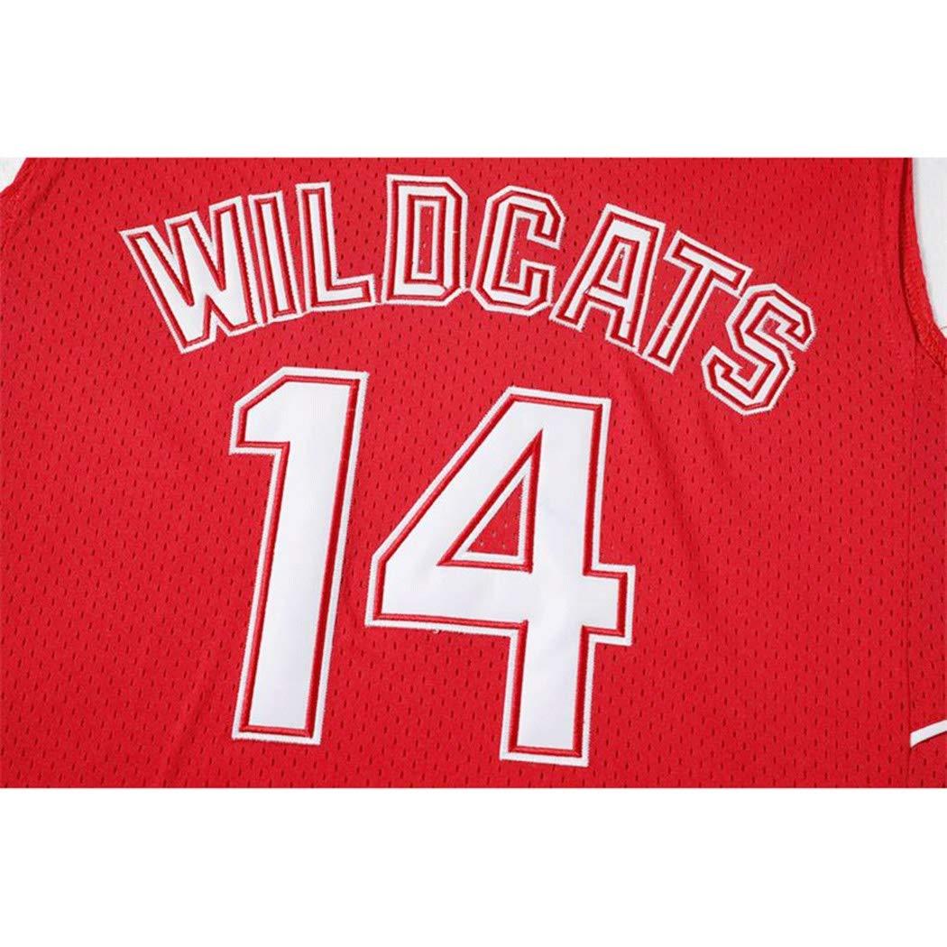 Bolton Wildcats # 14 Camiseta de Baloncesto de los Hombres ...