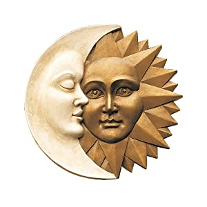 Design Toscano Celestial Harmony: Greenman Wall Sculpture