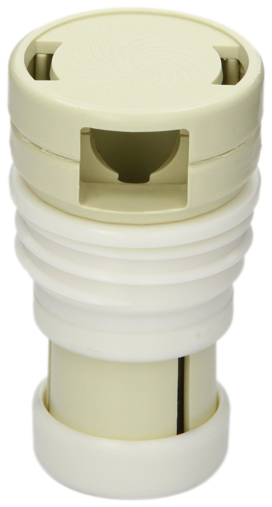Zodiac 3-9-510 Light Cream Threaded Cleaning Head Replacement by Zodiac