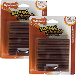 product image for Nylabone Romp 'N Chomp Toy Treat Refill, 24 Count