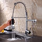 Hansgrohe Metro E High Arc Pull Out Kitchen Faucet