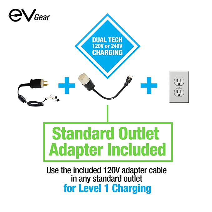 877b2485b Amazon.com  Level 2 EV Charger by EV Gear