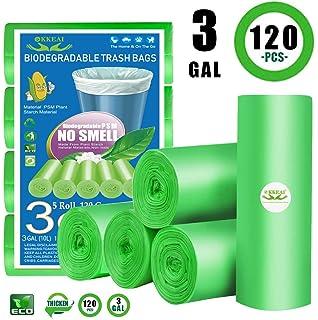 Amazon.com: Bolsas de basura biodegradables de 4 galones ...
