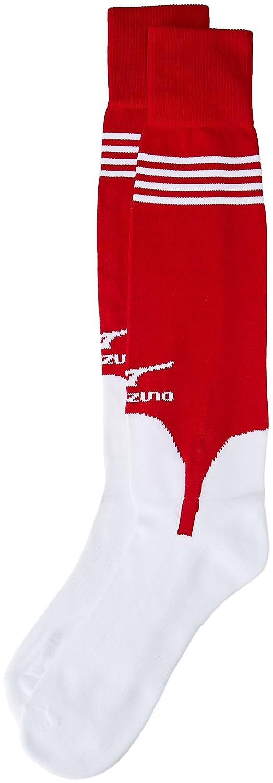 Mizuno Perfromanceスターラップソックス B01HQGMN96 Large|レッド レッド Large