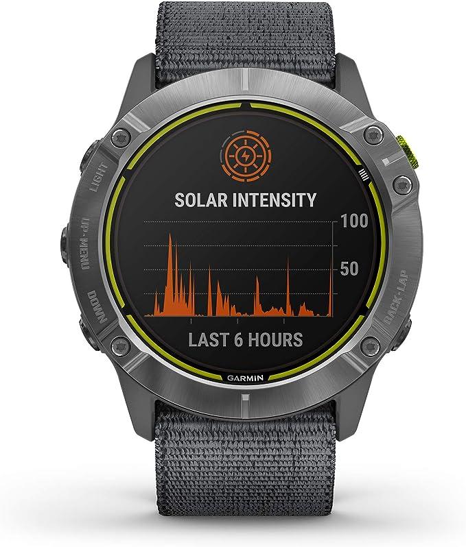 Garmin Enduro Smartwatch in gunmetal grey color