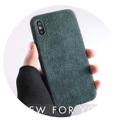 Amazon.com: Funda de tela con textura suave para iPhone 7, 8 ...