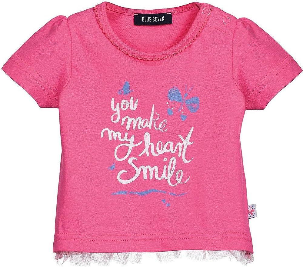 Blue Seven Baby M/ädchen T-Shirt Kurzarm 401019