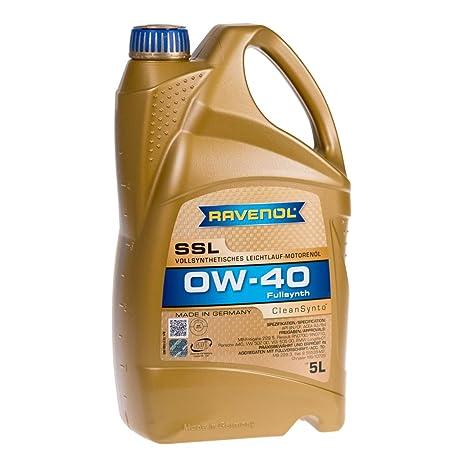 Amazon.com: Ravenol j1 a1555 SAE 0 W-40 Aceite de motor, SSL ...