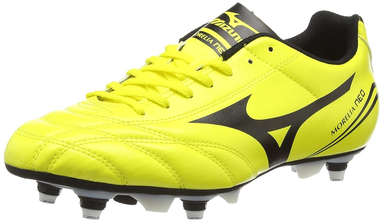 Jaune (Bolt noir) Mizuno Morelia Neo Cl Mix, Chaussures de Rugby Homme 40 EU