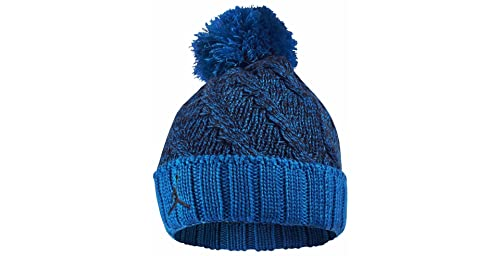 706608-453  AIR JORDAN JUMPMAN CABLE BEAN KNIT HAT APPAREL HATS AIR  JORDANMIDNIGHT 94979250699