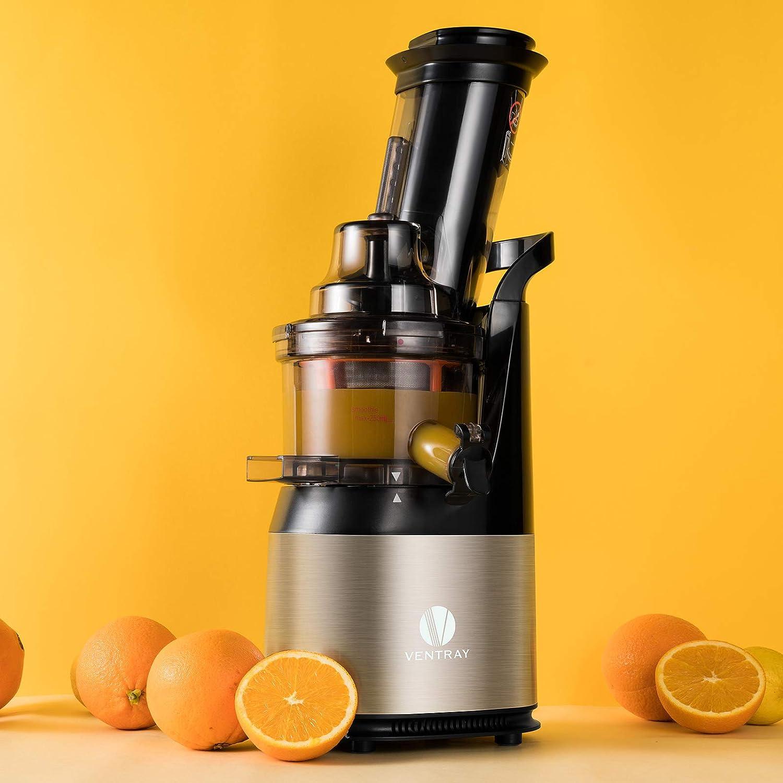 Slow Cold Press Juice Maker Black Ventray Masticating Juicer