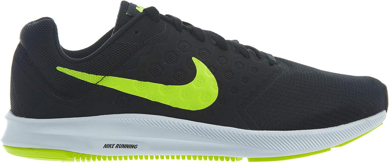 Eso federación Comida  Nike Downshifter 7, Zapatillas de Running Hombre, Negro (Black/volt-white),  45 EU: Amazon.es: Zapatos y complementos