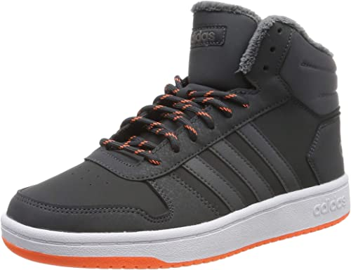 adidas Hoops Mid 2.0, Chaussures de Basketball Mixte Enfant