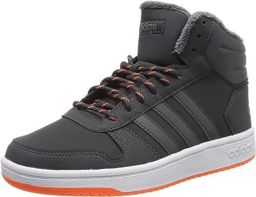adidas Hoops Mid 2.0, Zapatos de Baloncesto Unisex Niños: Amazon ...