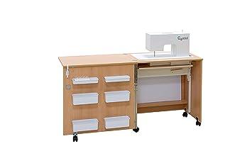 Comfort 1 Table Pour Machine A Coudre Walnut Aida