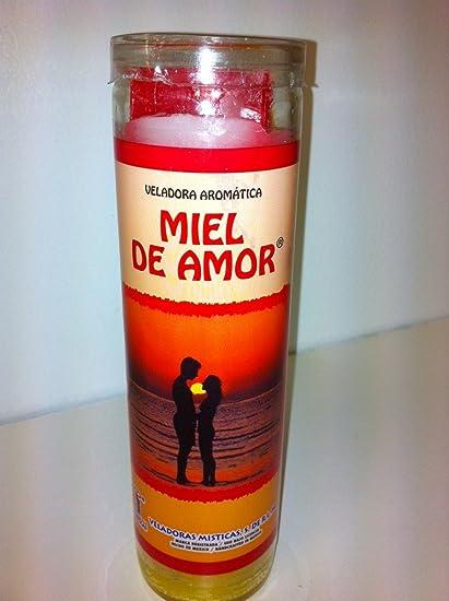 Veladoras Misticas Honey of Love (Miel De Amor) 7 Day