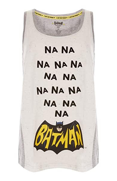 Licenced Batman - Pijama - para Mujer Top Pattern 2 L