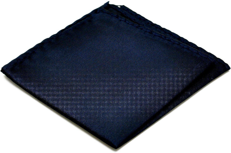Ecravate Pochette de costume Bleu nuit uni.