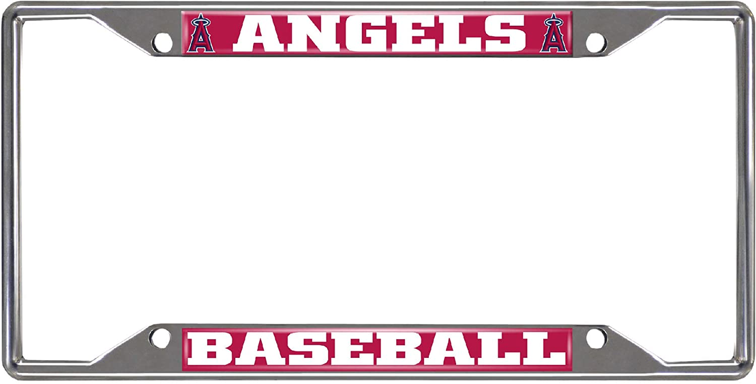Los Angeles Angels License Plate Frame FANMATS 26610 MLB