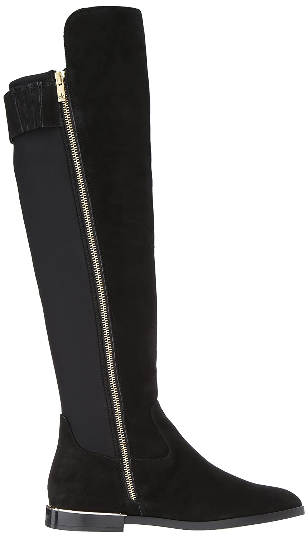 Calvin Klein Women's Priya Over The Knee US|Black Boot B074CN29RD 6.5 B(M) US|Black Knee Suede/Stretch 0388a9