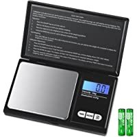 AMIR Digital Mini Scale, 100g 0.01g/ 0.001oz Pocket Jewelry Scale, Electronic Smart Scale with 7 Units, LCD Backlit…