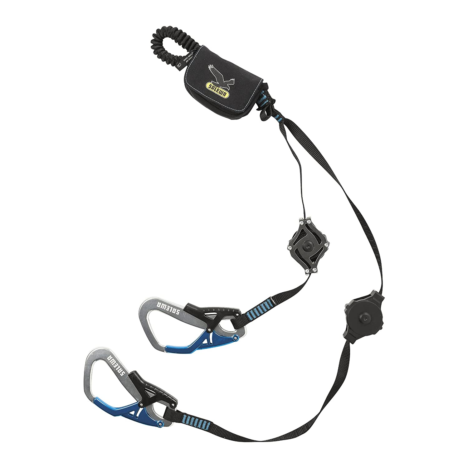 SALEWA Set VIA FERRATA ERGO ZIP - Kit dissipatore, Unisex, Nero, Unica 00-0000000958